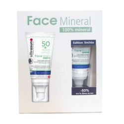 ULTRASUN COFFRET 2 FACE MINERAL SPF50 -50%
