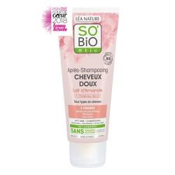 So'bio Après-shampooing cheveux doux Lait d'amande