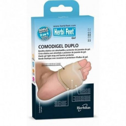 COUSSINET DOUBLE PROTECTION METATARSIENNE ET D'ALLUX VALGUS