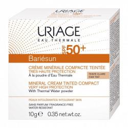 BARIÉSUN - Crème Minérale Compacte Teintée Claire SPF50+