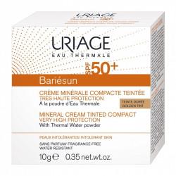 BARIÉSUN - Crème Minérale Compacte Teintée Dorée SPF50+