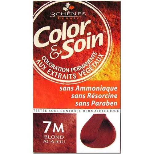 Color & Soin Coloration Blond Acajou 7M