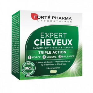 FORTE PHARMA EXPERT CHEVEUX, 28 COMPRIMES
