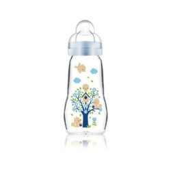 MAM Biberon EN VERRE Feel Good 2M+ ,260ml
