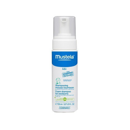 MUSTELA Shampooing Mousse Nourrissant, 150ml