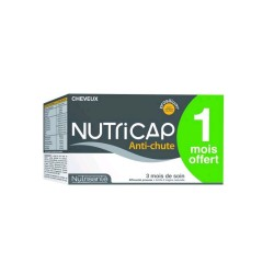 NUTRICAP CROISSANCE ANTICHUTE, 180 gélules