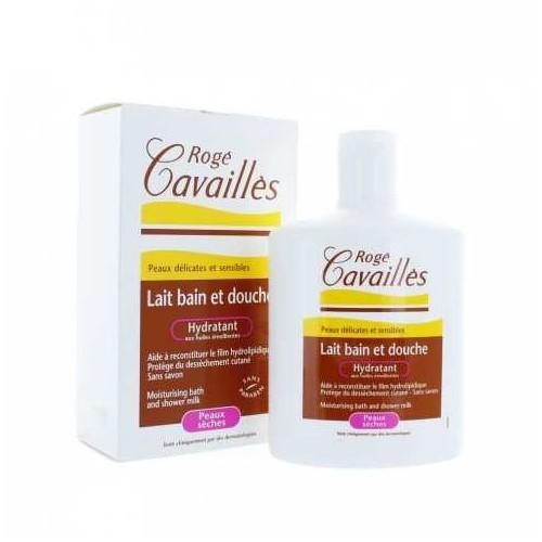 ROGE CAVAILLE Lait bain et douche Hydratant, 300ml