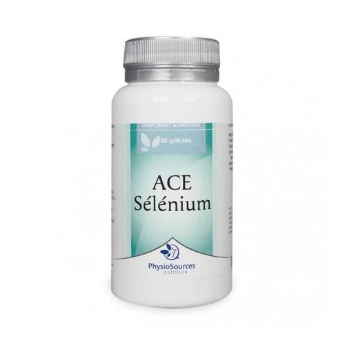 PHYSIO SOURCES Sélénium ACE , 30 gélules