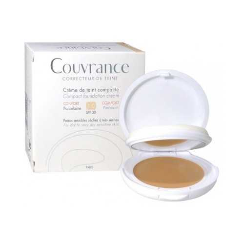 COUVRANCE Compact Confort - N1 Porcelaine, 9.5g