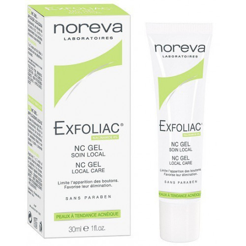 NOREVA EXFOLIAC NC GEL SOIN LOCAL, 30ml