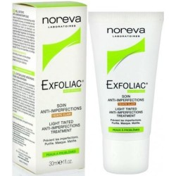 NOREVA Exfoliac Anti Imperfections Teinté Clair, 30 ml
