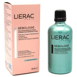 LIERAC SEBOLOGIE SOLUTION KERATOLYTIQUE CORRECTION IMPERFECTIONS 100ML
