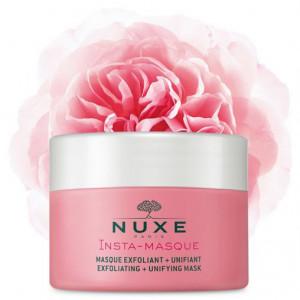 Nuxe masque Exfoliant rose et macadamia-50g