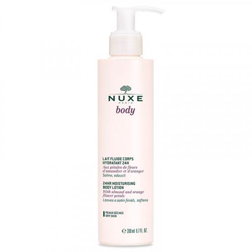 Nuxe body Lait fluide corps hydratant 24h, 200ml