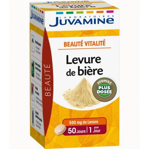 JUVAMINE LEVURE DE BIERE 50 COMPRIMES