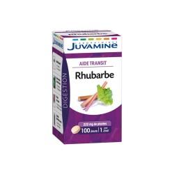 JUVAMINE RHUBARBE AIDE TRANSIT 100 COMPRIMES