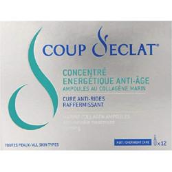 COUP D'ÉCLAT CONCENTRE ENERGETIQUE ANTI-AGE 12 AMPOULES