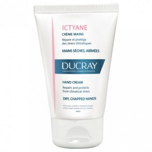 Ducray ICTYANE crème mains, 50ml