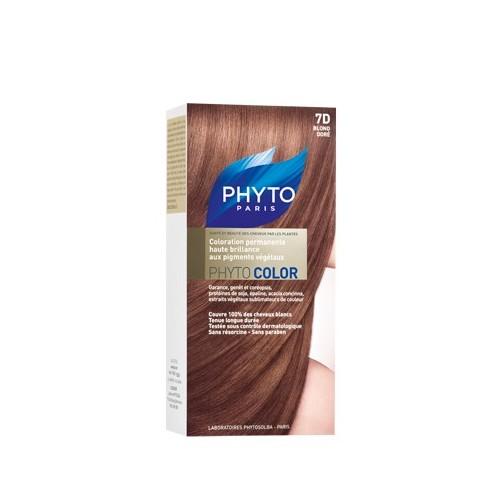 PHYTO Phytocolor Couleur Soin 7D Blond doré, 1 kit