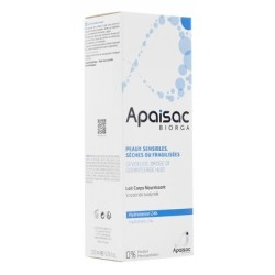 APAISAC BIORGA lait corps nourrissant 24 h, 200 ml