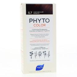 PHYTO Phytocolor Couleur Soin Châtain clair marron, 1 kit