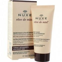 NUXE Rêve de Miel Baume Visage Ultra-Réconfortant, 30 ml