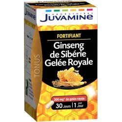 JUVAMINE GINSENG GELEE ROYALE REVITALISANT 30 GELULES