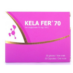 KELA FER 70 30 GELULES