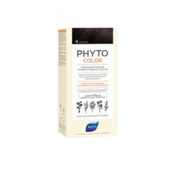 PHYTO Phytocolor Couleur Soin 4 Châtain, 1 kit