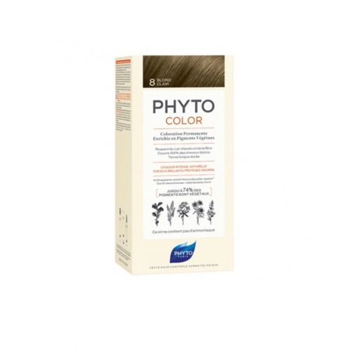 PHYTO Phytocolor Couleur Soin 8 Blond clair, 1 kit