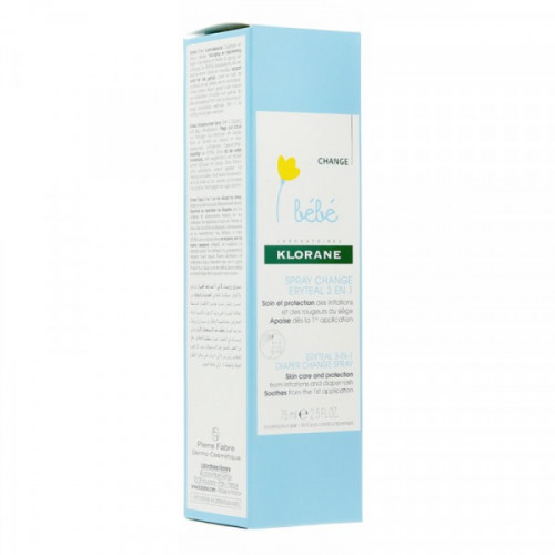 KLORANE Eryteal Spray Réparateur Pour Le Change, 75 ml