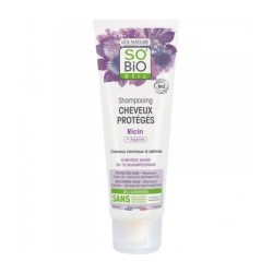 SO'BIO SHAMPOOING CHEVEUX PROTEGES RICIN 250ML