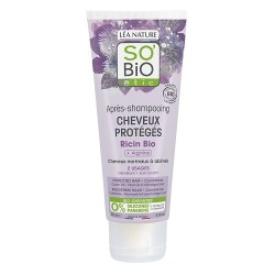 SO'BIO APRES-SHAMPOOING CHEVEUX PROTEGES RICIN 200ML