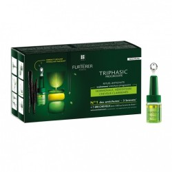 FURTERER PROGRESSIVE SERUM ANTI-CHUTE COFFRET 8 FLACONS TRIPHASIC RENE