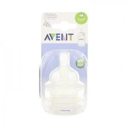 AVENT TETINE A DEBIT VARIABLE 1M+ (2 PIECES)