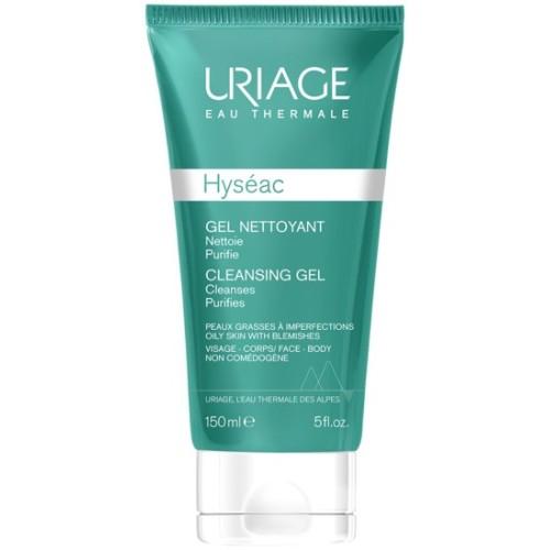 Uriage Hyseac Gel nettoyant doux, 150ml