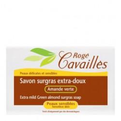 ROGE CAVAILLES Savon surgras extra-doux - Amande verte 115G