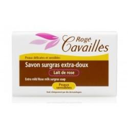 ROGE CAVAILLES Savon surgras Extra doux au lait de rose,150g