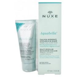 Nuxe Aquabella Émulsion Hydratante Révélatrice de Beauté 50 ml + Gelée Purifiante Micro-Exfoliante 30 ml Offerte