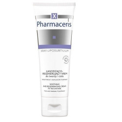 PHARMACERIS X SOOTHING AND REGENERATING FACE AND BODY CREAM 75 ML