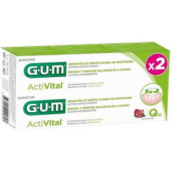 GUM ACTIVITAL DENTIFRICE GEL LOT DE 2 X 75ML