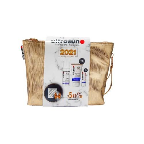 COFFRET ULTRASUN ANTI-PIG+GLIMMER 50%+LIP SPF 50%
