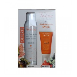 COFFRET AVENE EMULSION TEINTEE SPF 50+ + EAU THERMALE 150 ML
