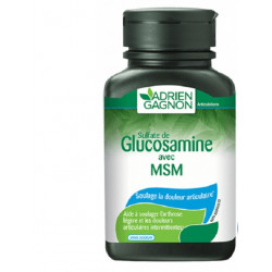 GLUCOSAMINE AVEC MSM, 30 COMPRIMES