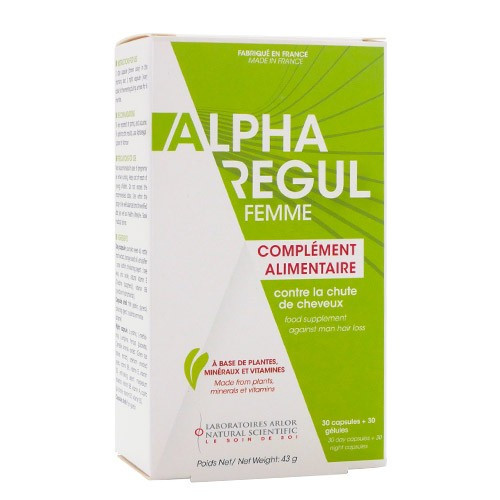 Arlor Alpharegul Femme - 30 capsules