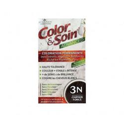 3 CHÊNES COLOR & SOIN ADVANCED - 4N CHÂTAIN NATUREL