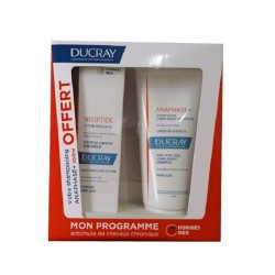 DUCRAY COFFRET NEOPTIDE LOTION ANTICHUTE + SHAMPOING ANAPHASE+ OFFRET