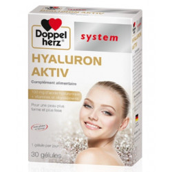 DOPPELHERZ HYALURON AKTIV 30 GELULES