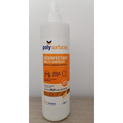 POLYPHARMA POLYSURFACES DESINFECTANT MULTI-SURFACES 500ML