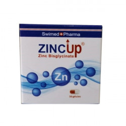 Swimed+ Pharma zincUP, 30 gélules